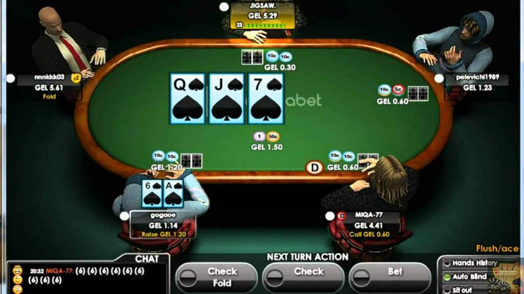 Winnings On A Poker Game